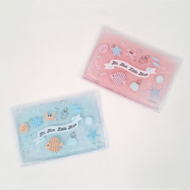 「3COINS×Mr. Men Little Miss」接触冷感アイテム